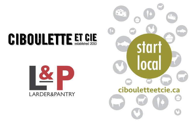 Ciboulette et Cie and Larder & Pantry