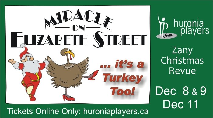 Huronia Players - Miracle On Elizabeth Street
